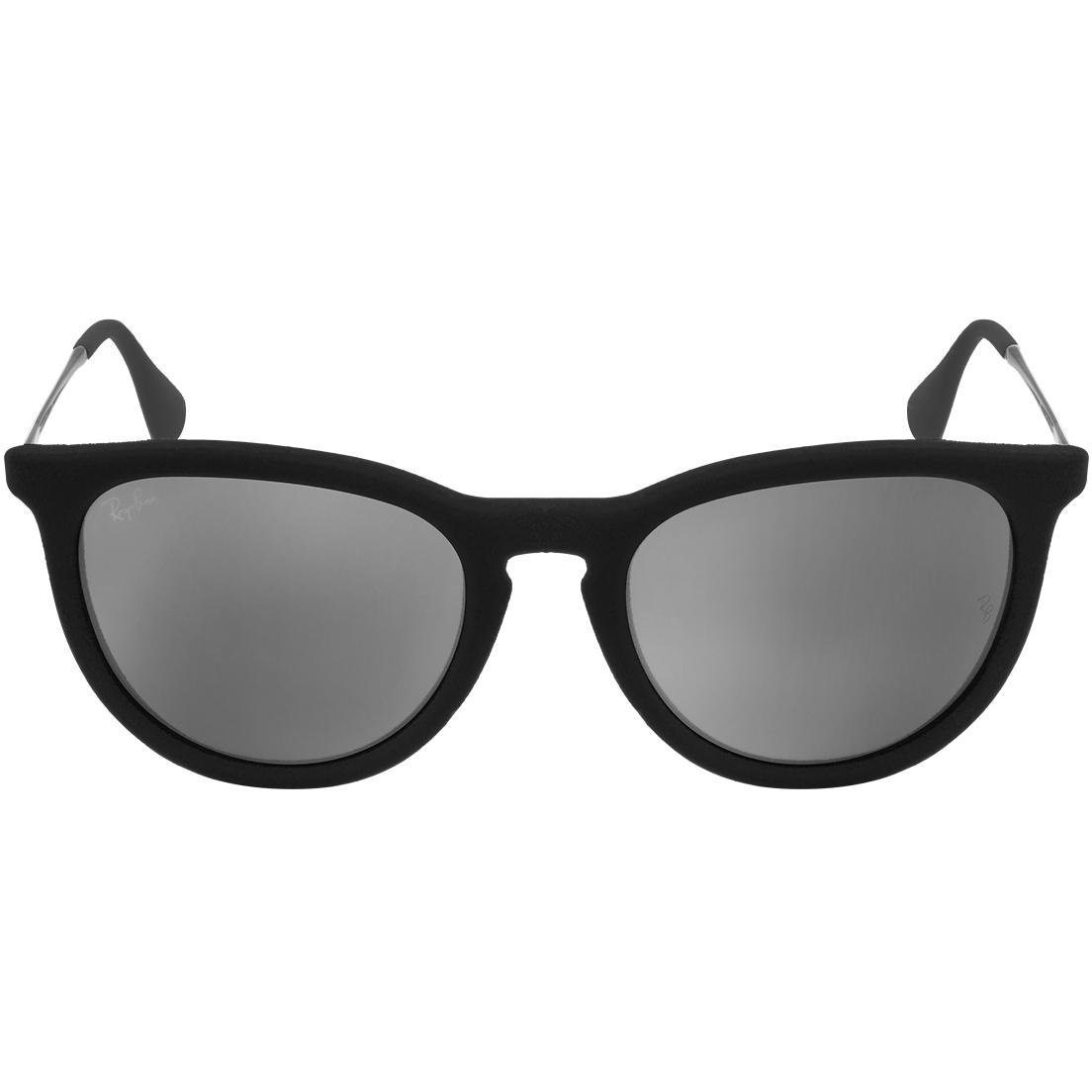 63e59b4ee5d6f oiOferta    Óculos Ray Ban Erika Velvet 4171 - Modelo Feminino com Armação  Preta Veludo