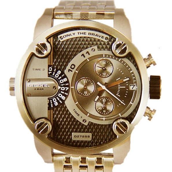 179a3a3fcf1 54d26612aabd9.jpg. oiOferta   Moda e Acessórios   Relógios   Relógios  Masculinos. Relógio Masculino Diesel DZ7259 Analógico - Dourado