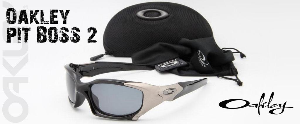 21731a79d oiOferta :: Óculos Oakley Pit Boss II Black Iridium com Armação Preta Fosca  e Lentes