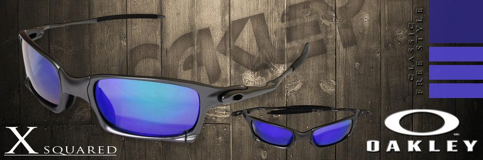 Acaba de chegar o mais novo membro da linha X-Metal o X Squared! Ele é um  modelo muito parecido com o Juliet, um dos óculos mais famosos da Oakley,  ... f2297cf7f8