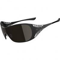 5118ff840 Óculos Oakley Liv Polished Black com Armação Preta e Lentes Polarizadas Fumê