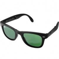 4601cb459 Óculos Ray Ban Wayfarer 4105 - Modelo Unissex com Armação Preta e Lentes em  Policarbonato Verde