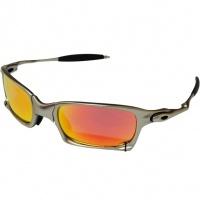 922820756 Óculos Oakley X Squared Plasma Fire Iridium com Lentes Polarizadas